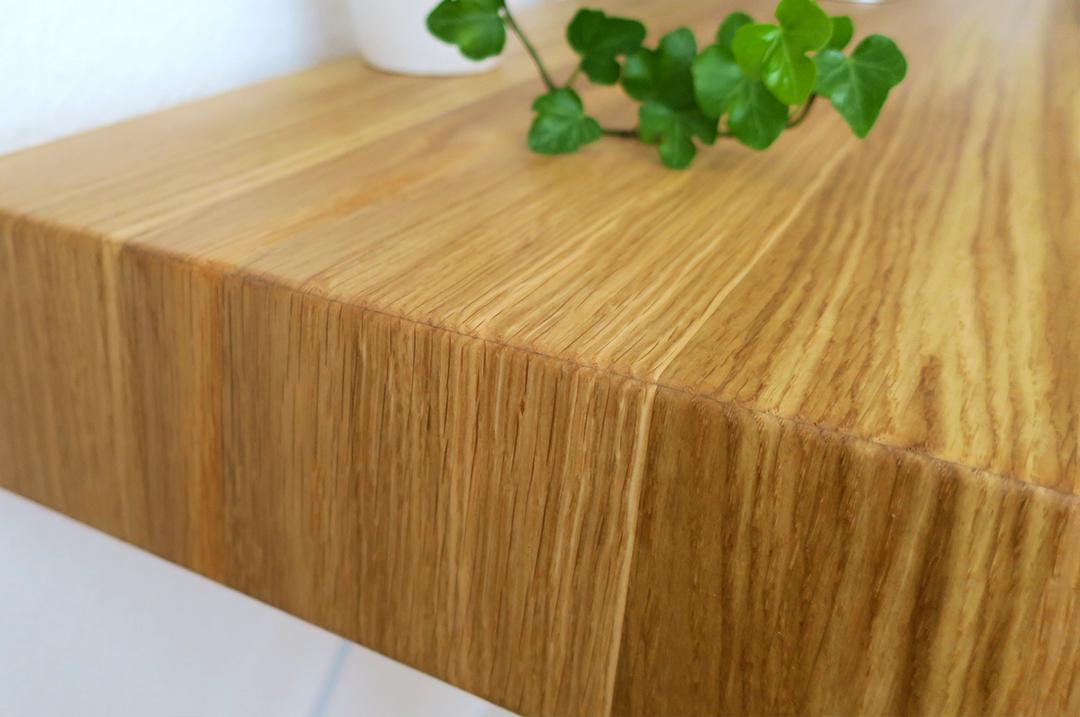Schreibtisch aus Eiche Massivholz