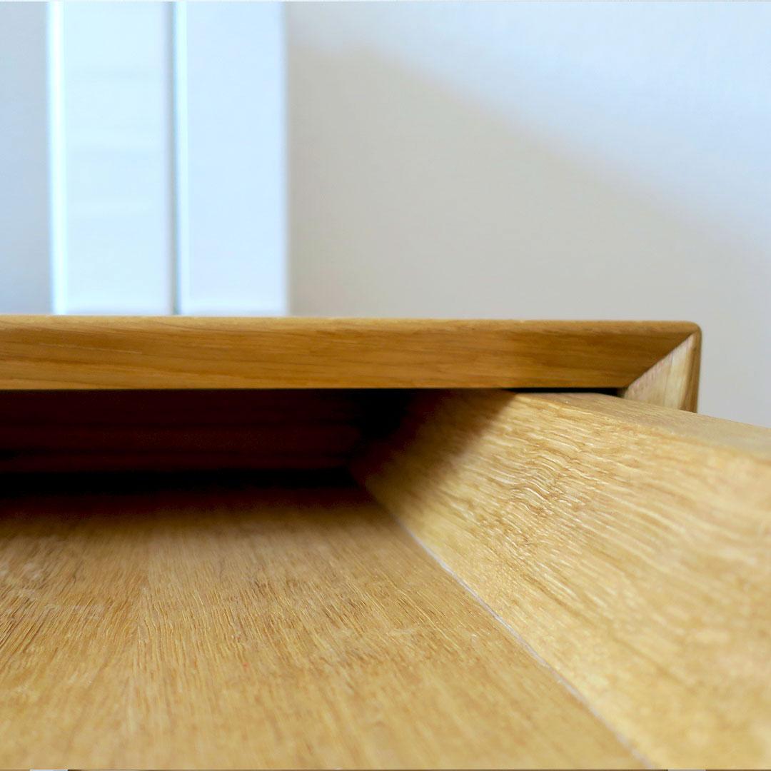 Schreibtisch aus Eiche